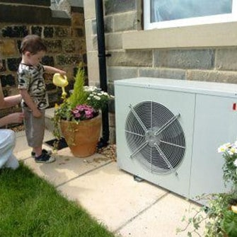 Air Source Heat Pumps Installation In Glasgow
